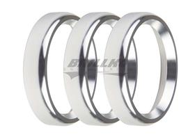 2-1/16 BEZELS, SILVER, BOLD, PACK OF 3
