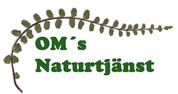 OM´s Naturtjänst logotype