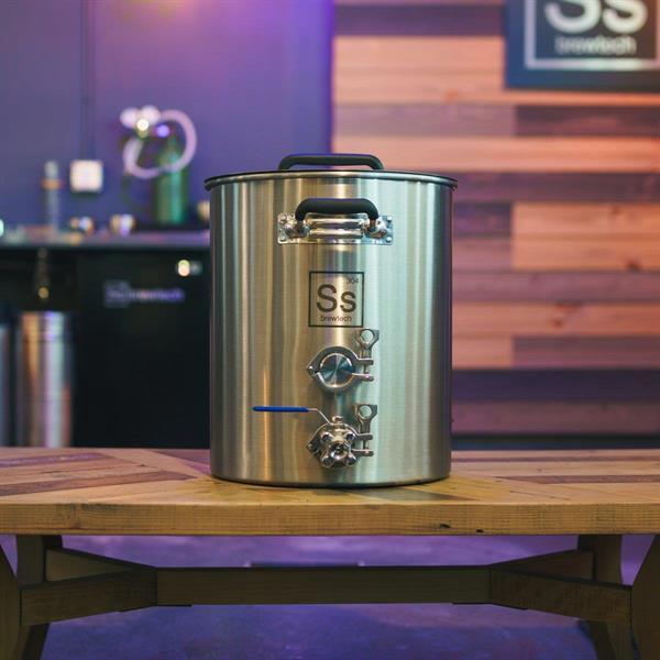 Brew Kettle 15 gallon Tri-Clamp