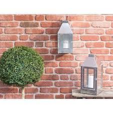 A2 Living lykt - mini wall  galvanisert