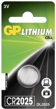 GP Lithium Cell (CR 2025)