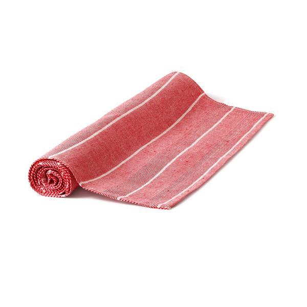Löpare Fiskben röd-vit