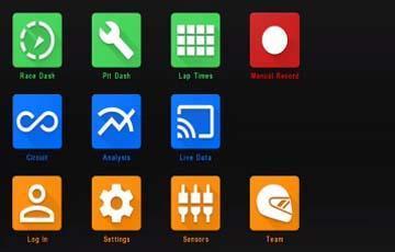 Racepak D3 App Overview - Öppnas i nytt fönster