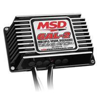 BLK MSD-6AL-2, w/2-Step Limiter,4,6,8cyl