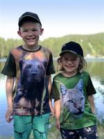 T-skjorte Gaupe barn