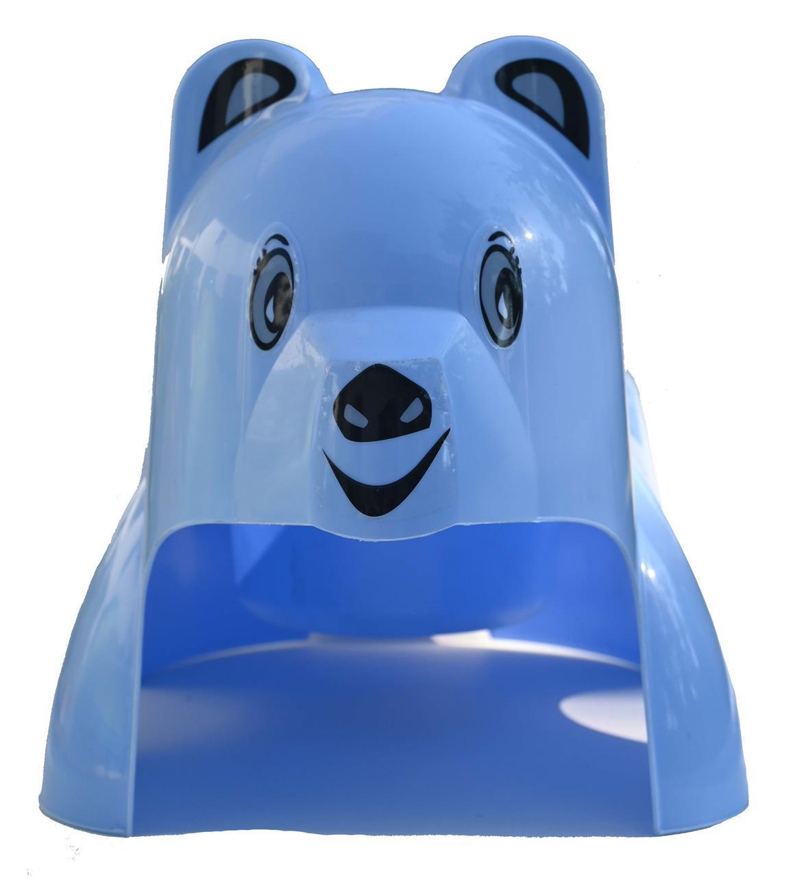 Björn, ljusblå