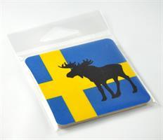 Magneter, Älg, svenska flaggan