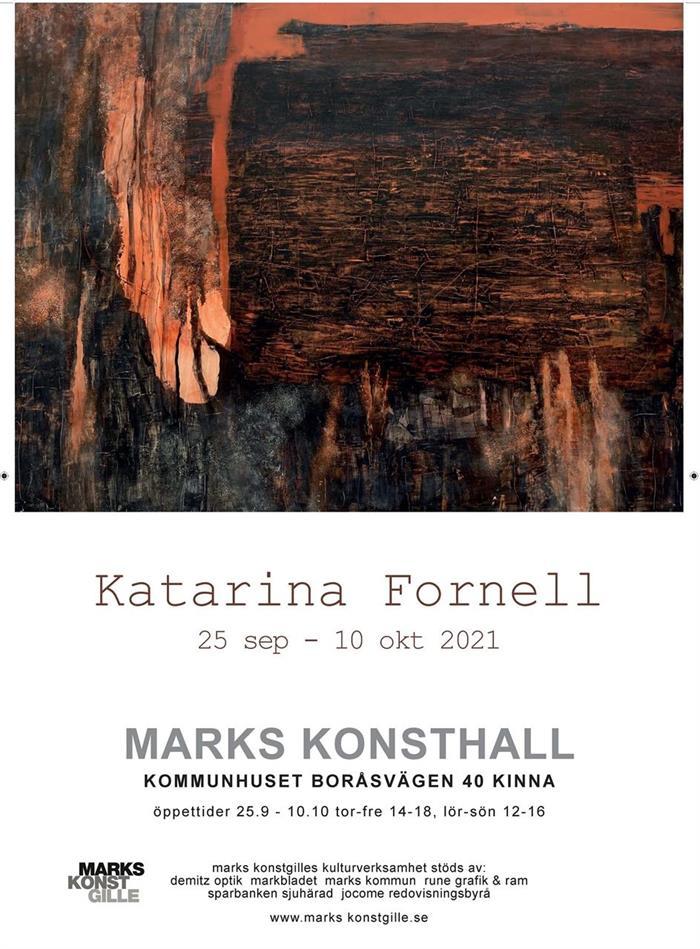 KATARINA FORNELL - 25: sep -- 10:e okt 2021