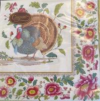 Middag serviett Thankgivings settings, 3 lag 20stk