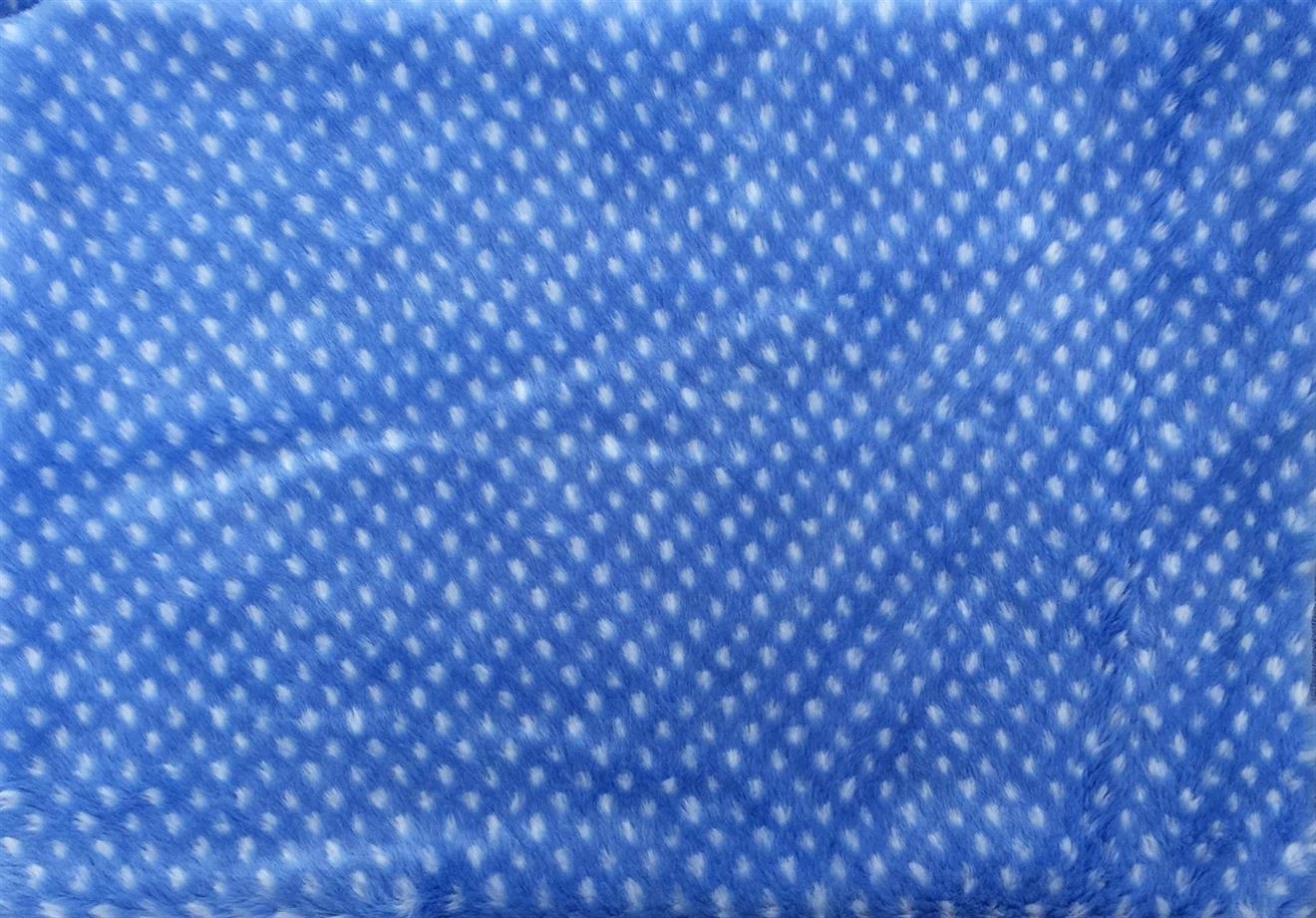 Blå prick