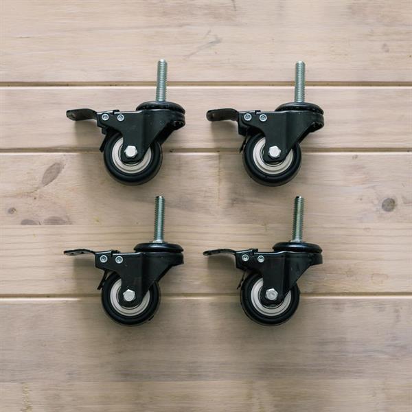 Hjul for Chronical 53/64 liter (4 stk)