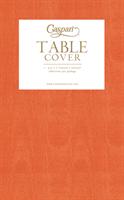 Caspari papirduk Moire orange, 140 cm * 220 cm