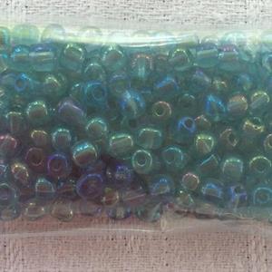 Blekturkos glänsande genomskinlig pärla 4mm
