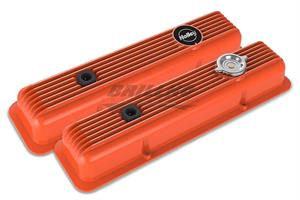 SBC MUSCLE SERIES VALVE COVERS,FINNED,FA