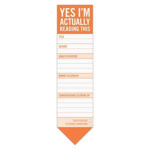 Yes I´m actually reading this bookmark Pad