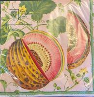 Lunsjservietter Brookshaw melons, 3 lags 20stk