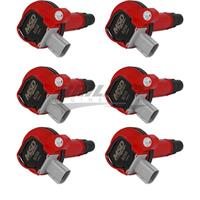 Coil,RED,Ford Eco-Boost 3.5L V6, 6-Pk