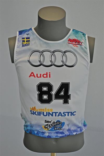 STARTNUMMERVÄST RACE-ELASTIC, Alpint Herrar