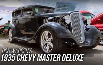 1935 Supercharged Chevy On Sniper EFI