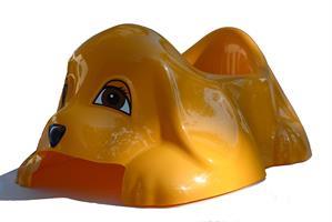Hund, orangegul