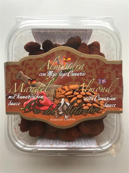 Mandel Crusantemo med mojo röd/150gr/12