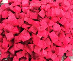 Rødbeter terning 1 kg