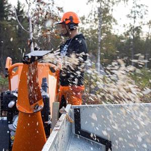 Flishugg B&S 15hk med elstart