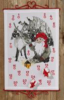 Julkalender Tomte med ren