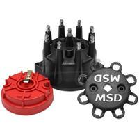 Black Small Diameter Cap/Rotor Kit