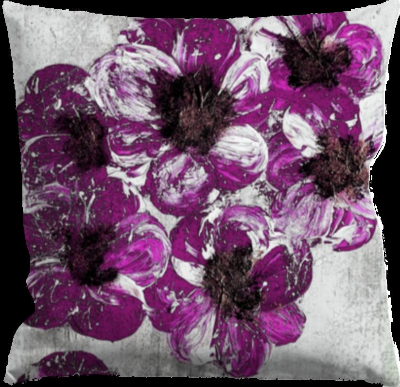 Kuddfodral 40 x40 cm ,Blommor
