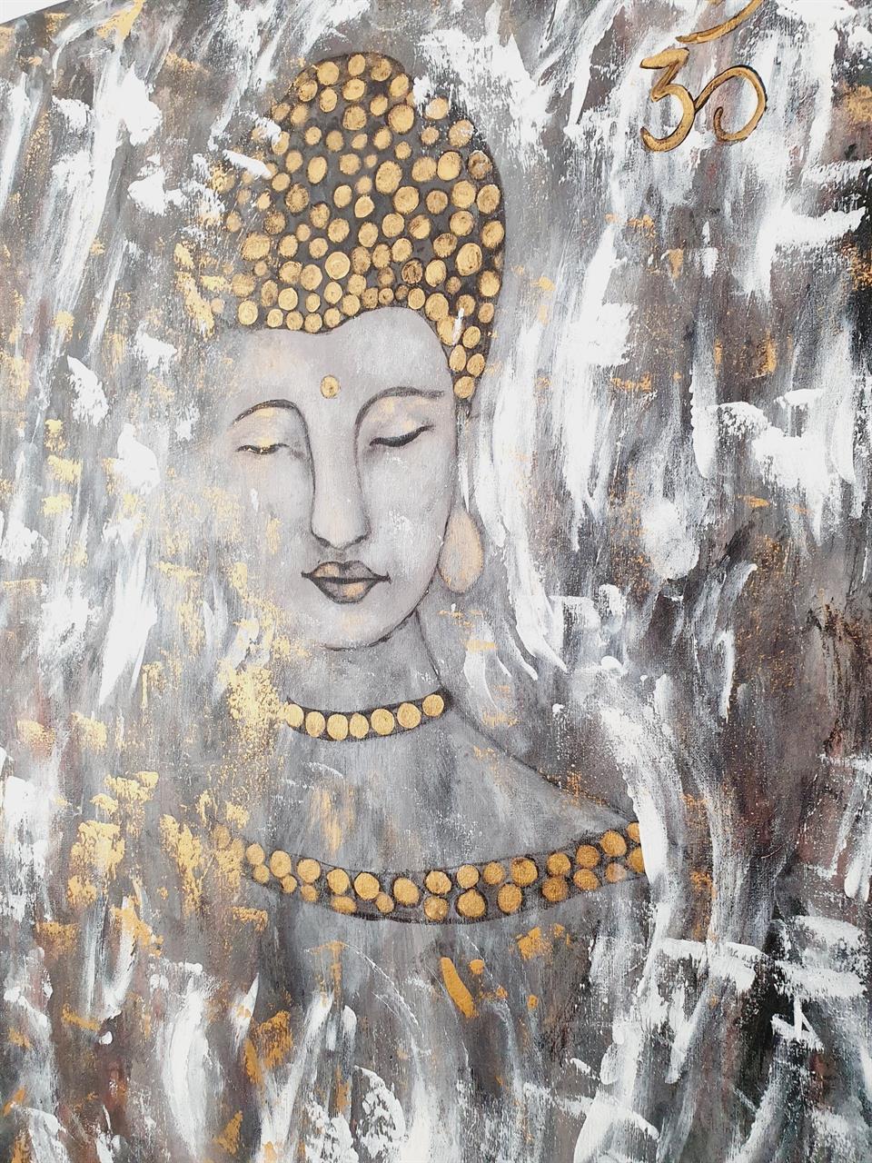 Buddha/ Meditation /Mind -tavla
