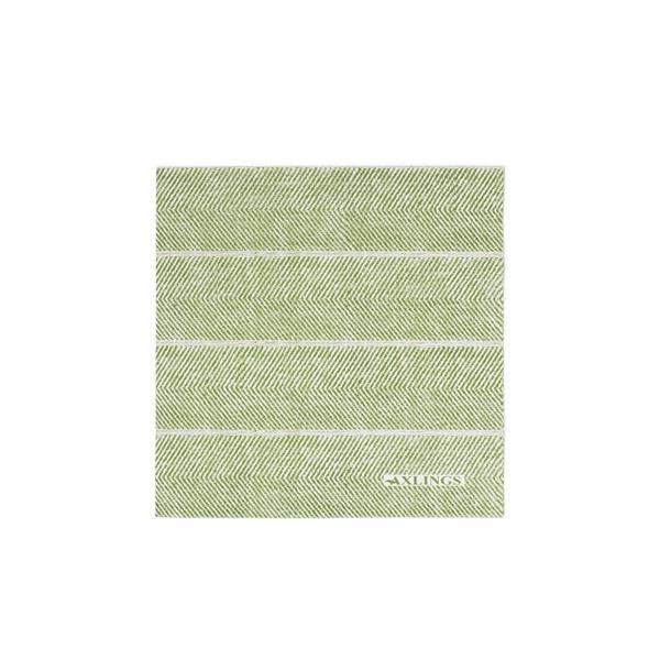 Pappservett Fiskben bladgrön