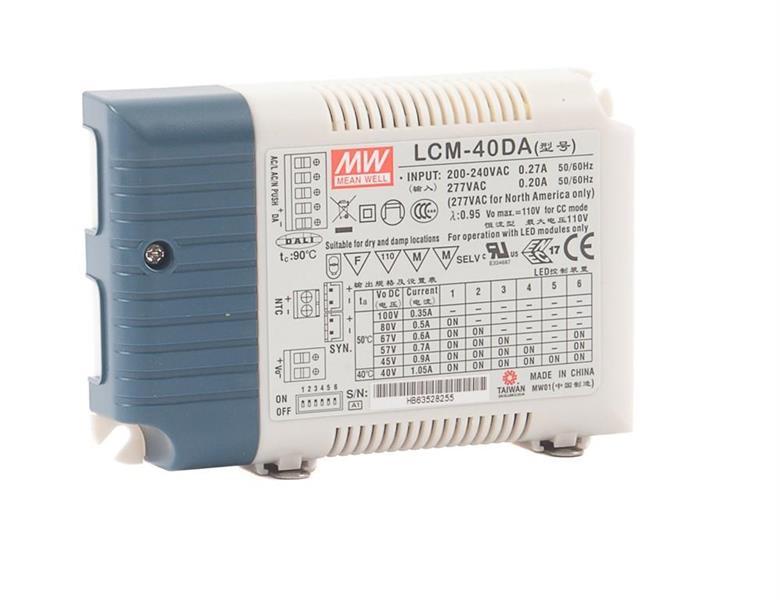 Driver för LED panel Eco 42W DALI / Switchdim
