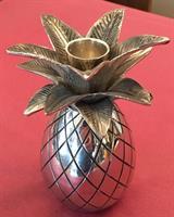 Lysestake ananas stål 12cm
