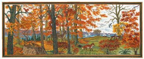 Rosenstand tavla Höst landskap  art nr: 12-835
