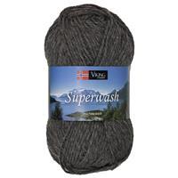 Viking Superwash mörkgrå