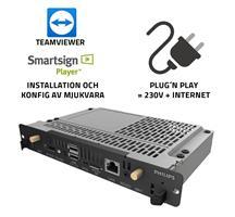 Installation CRD50 - Smartsign + TeamViewer