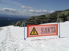 SAKTA-SKYLT 150 x 50 cm