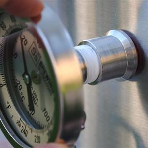 Gjennomføring for termometer til Brew Kettle