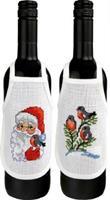 Flaskförkläden jul 2-pack