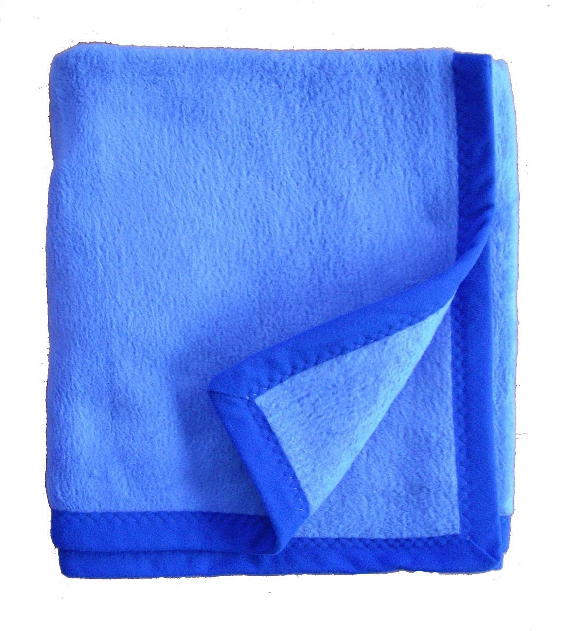 Enkel, blå