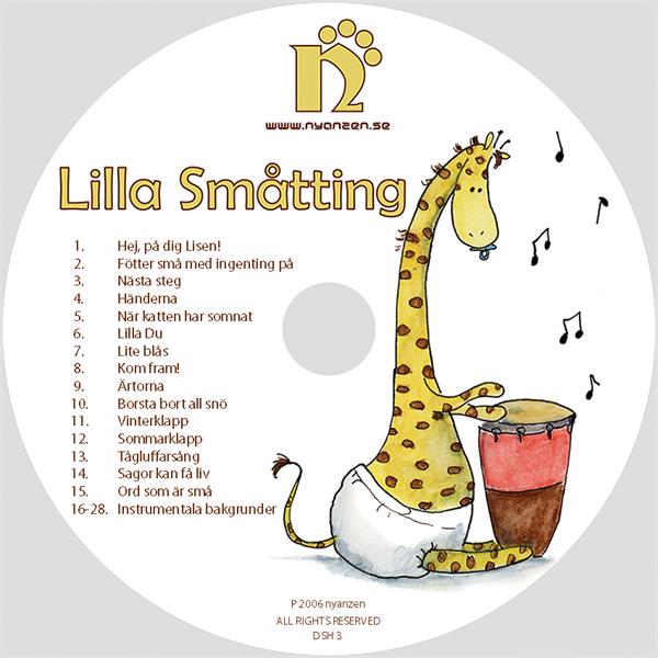 Lilla Småtting CD/Digital musik