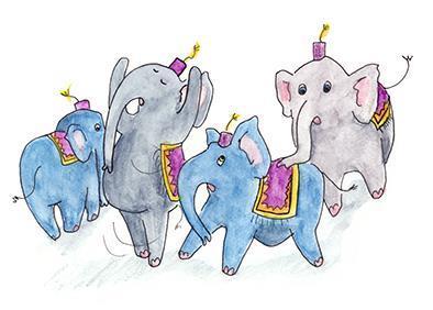Elefantparaden - lösnot