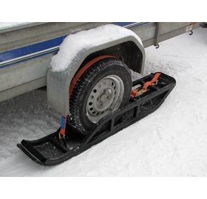 Trailer ski sett (par) for 1-akslet henger