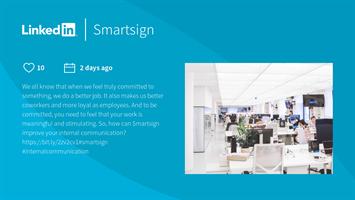 1 st anpassad layout/mall Linkedin