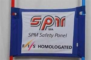 Storslalomflagga WC Safety Soft Blå Fis Homologate