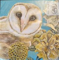 Lunsjservietter Owl tale, 3 lags 20stk