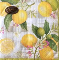 Lunsjservietter Citron, 3 lags 20stk