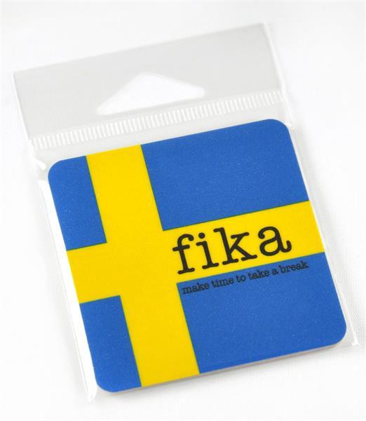 Magneter, Make time Fika, svenska flaggan