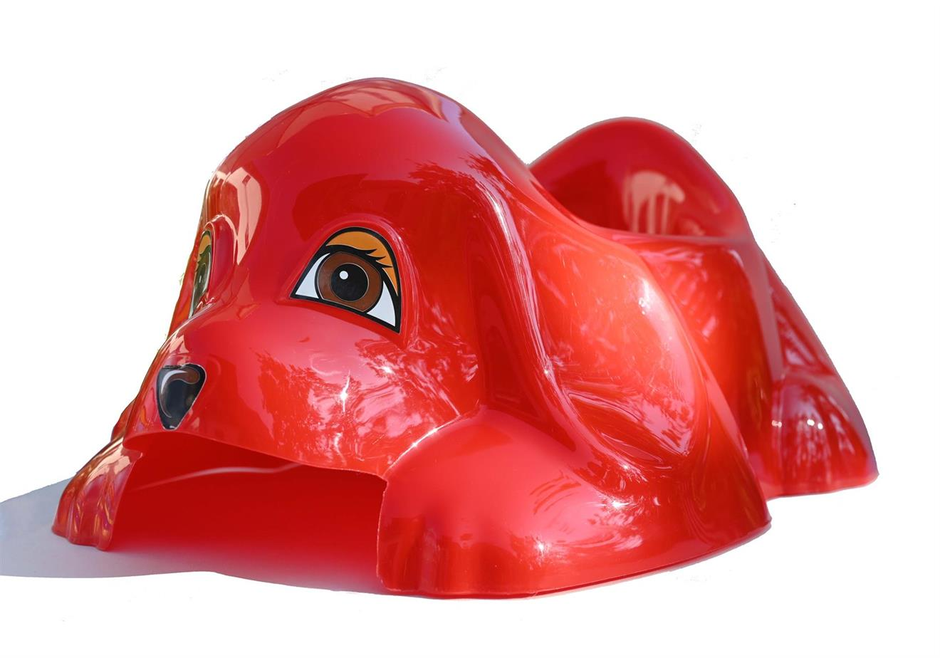 Hund, röd